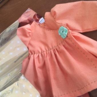 Bez bebek  elbise oyuncak bebek elbise