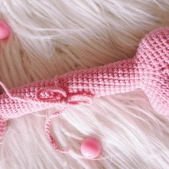Amigurumi Kedi köpek oyuncakları (kemik)