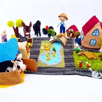amigurumi oyun çiftliği