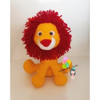 Amigurumi taraftar aslan