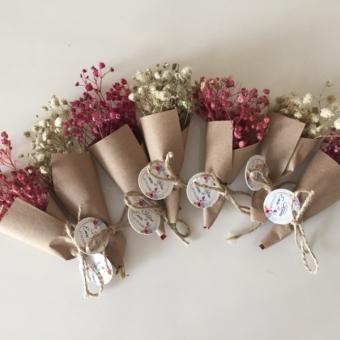 Mini Çiçek Buket Hediyeliği