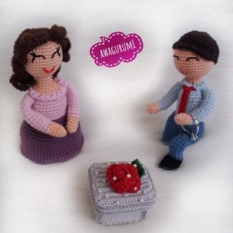 Evlilik teklifi gelin damat  yüzük kutusu