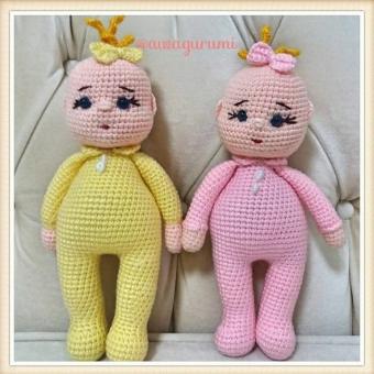 Amigurumi Miniş bebek
