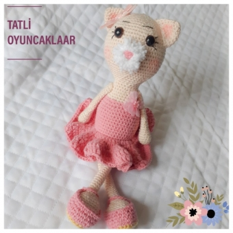 Amigurumi Balerin Kedi