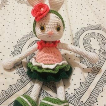 Amigurumi Şapşik Tavşan