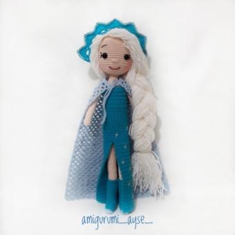 Amigurumi Elsa Bebek