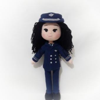 amigurumi meslek bebeği pilot
