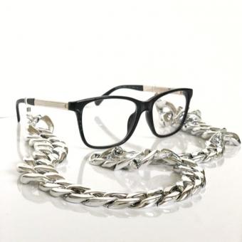 akrilik gümüş  gözlük zinciri