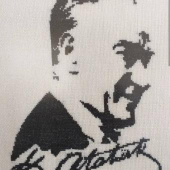 Etamin Atatürk tablosu