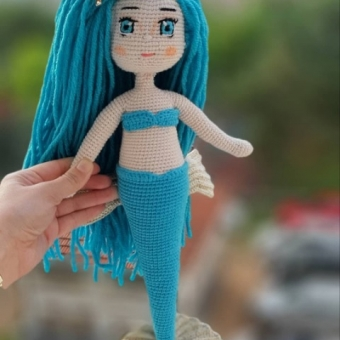 Amigurumi Deniz kızı