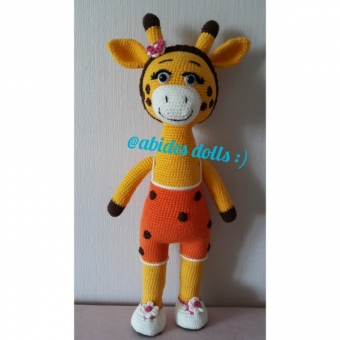 Amigurumi Zürafa Dolly