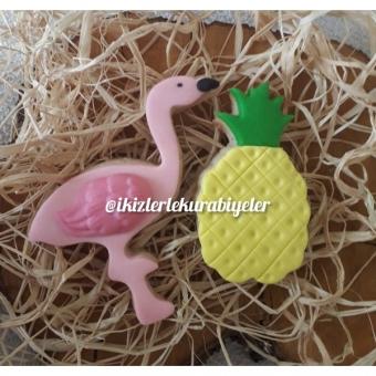 Flamingo kurabiye