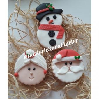 Yıl başı hediyesi kurabiyeler