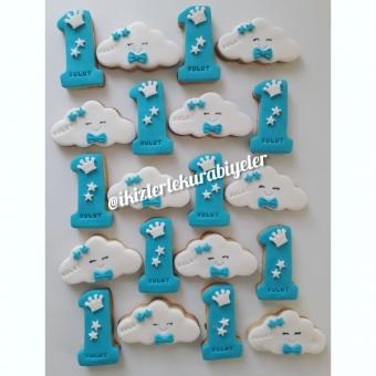 Bulut 1 yaş kurabiyeler