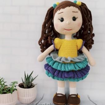 Amigurumi Zeynep bebek