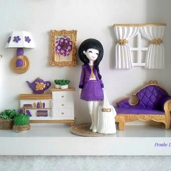 Genç Kız Odası Panosu