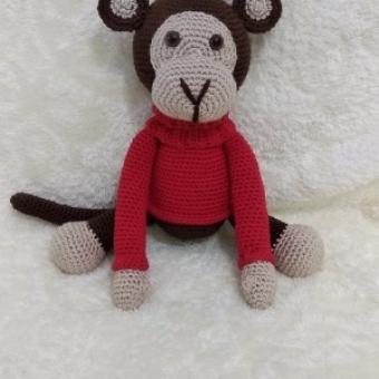 Amigurumi maymun