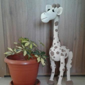 Amigurumi Zürafa