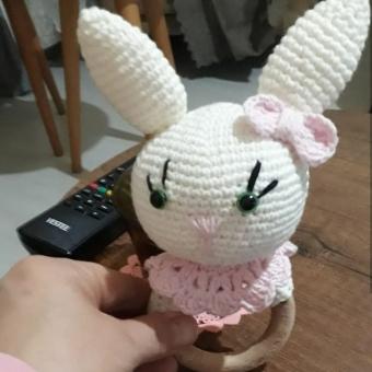 Amigurumi Tavşan Çıngırak