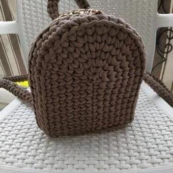 Penye ip sırt çantası
