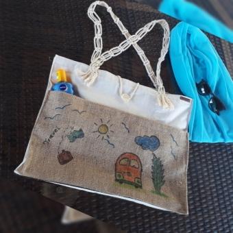 Plaj çantası