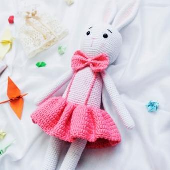 Amigurumi Kız Tavşan