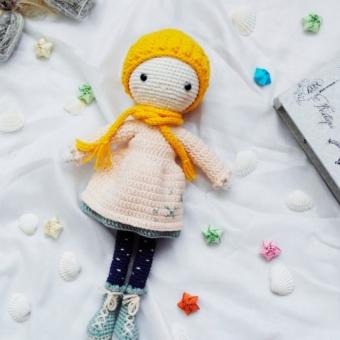 Amigurumi Kış Bebeği