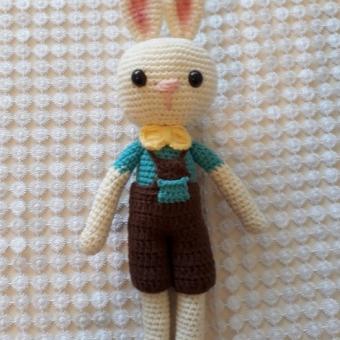 amigurumi erkek tavşan