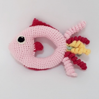 Amigurumi Balık Çıngırak