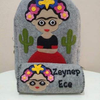 Frida Kahlo Sırt Çantası
