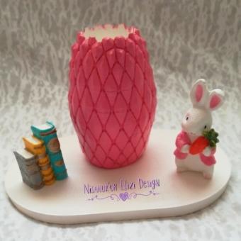 Kokulu Taş Tavşanlı Kalemlik