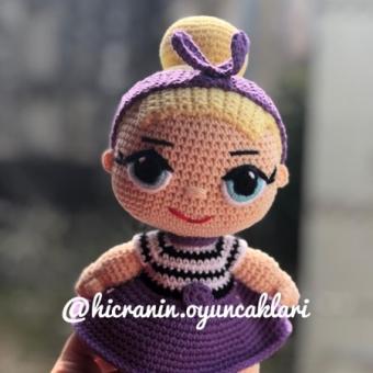 Amigurumi lol bebek