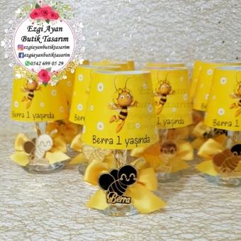 Arı Maya Abajur Mumluk