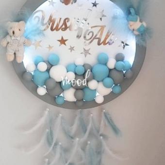 Led Işıklı Bubble Kapı Süsü
