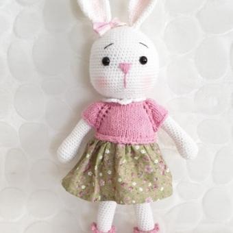 Amigurumi amour tavşan