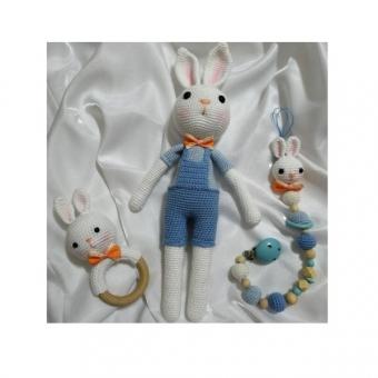 Amigurumi tavşan seti