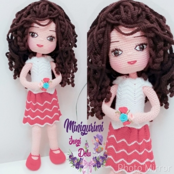Amigurumi Barbie Bebek