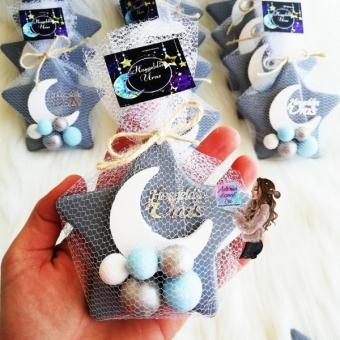 Yıldız Magnet Mavi-Gri Toplu