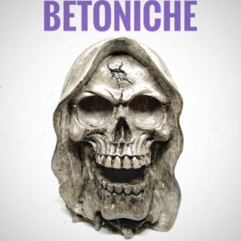 Beton Obje - Skull