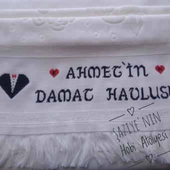ETAMİN DAMAT HAVLUSU