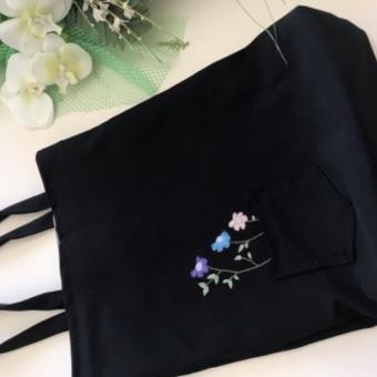 Nakışlı bez çanta