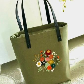 Deri saplı çanta
